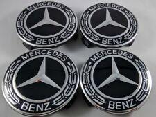 Set 4pz NEW tappi coprimozzi MERCEDES-BENZ classe A B C E GLK 75mm