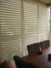 Custom Made Basswood  Plantation Internal Window Modern Hinged Bi-Fold SliderNew