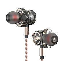 QKZ CK10 High End Sport In-Ear-Kopfhörer mit Mikrofon 6fach Driver Deep Bass