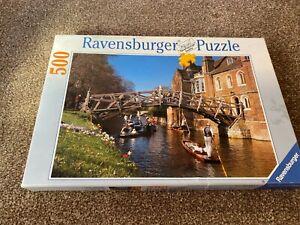Ravensburger JIGSAW PUZZLE Mathematical Bridge Queens' Cambridge 500 Pieces