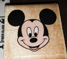 Mickey's portrait, Disney,rubber stampede, 91,rubber , wood