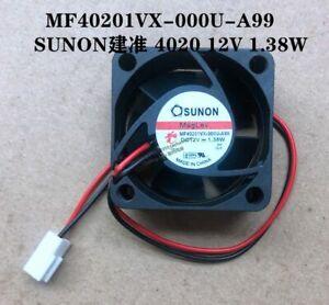 SUNON MF40201VX-000U-A99 4020 12V 1.38W 2-pin cooling fan