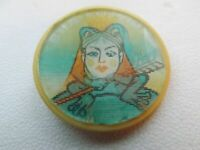 Vintage Pin Badge Russian Tale The Frog Princess,USSR