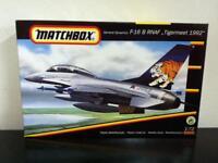"""Matchbox Model Kit 1/72 40146 F-16 B RNAF """"Tigermeet 1992"""" MIB, 1993"""