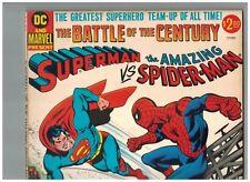 Superman vs the Amazing Spider-Man Treasury!  1976 DC and Marvel Stan Lee VF