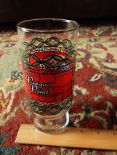 "Penguin Point ""The People Pleasers"" COCA-COLA Faux Stained Glass Tumbler Vtg Ltd"