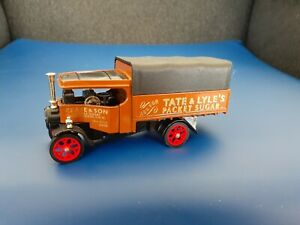 Diecast Matchbox Yesteryear Tate + Lyle ,1922 Fodun steam lorry.Boxed.Original.