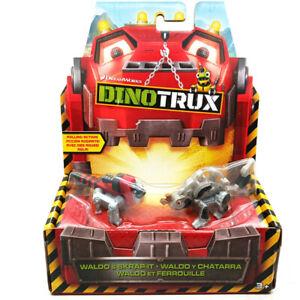 Mattel Dinotrux WALDO & SKRAP-IT Dreamworks Toy Kids Gift Original Boxed New
