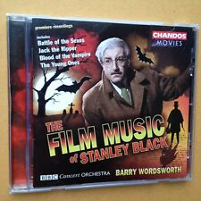 FILM MUSIC OF STANLEY BLACK CD Soundtracks BBC Concert Orchestra Jack the Ripper