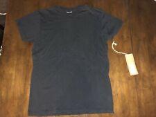 Men's Retro Brand Basic Black T-Shirt New With Tags Size: Medium