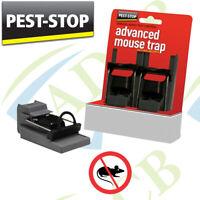 2x Spring Rat Mouse Trap Rodent Pest Control Easy Bait Catcher Killer Metal
