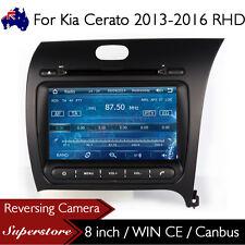 """8"""" Car DVD Nav GPS Multimedia Stereo For Kia Cerato 2013-2016 RHD"""