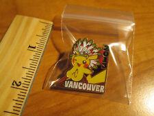 NM PIKACHU Metal PIN/BADGE Pokemon WC-2013 VANCOUVER World Championships 13' TCG