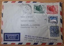Brief San Salvador Luftpost Par Avion Air Mail El (62