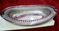 STERLING SILVER BAILEY BANKS & BIDDLE RIBBED PLATTER TRAY BOWL DISH BASKET