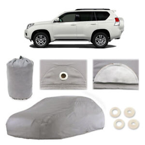 Fits Toyota Land Cruiser 5 Layer Car Cover Outdoor Water Proof Rain Sun 2nd Gen