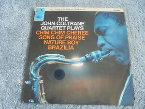 John Coltrane - John Coltrane Plays 1965 UK LP HMV MONO 1st