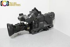 Sony DXC-D30 Studio Broadcast Camera Fujinon Lens CA-TX7 Triax Adapter FREE S&H