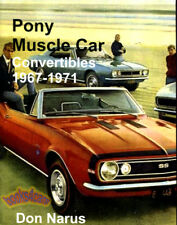 MUSCLE CAR BOOK PONY CONVERTIBLES