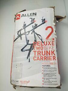 Allen Sports Deluxe 2 Bike Trunk Carrier Bicycle Rack 102DN New