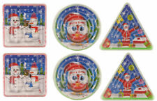 12 Christmas Maze Puzzles - Stocking Toy Loot/Party Bag Fillers Childrens/Kids