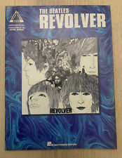 The Beatles Revolver Guitar Recorded Versions TAB Music Book & 2nd Beatles Book