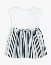 BURBERRY BABY GIRLS DRESS. 3-6 Months. BNWT. DESIGNER