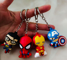 Small Figurine Keychain with your Favorite Superhero Character | Us Stock