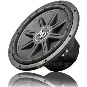 """Audiopipe 10"""" PP Cone Subwoofer 700 Watts Max Dual 4 Ohm Car Audio TS-PX-1050"""