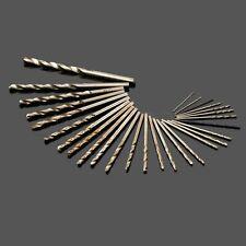 10pc 0.5mm-3.5mm Straight Shank Micro HSS Twist Drill Bits For PCB Plastic Meta