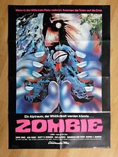 DAWN OF THE DEAD - scarce B-style German 1-sheet Zombi Horror 1978 GEORGE ROMERO