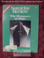 Saturday Review August 1979 ROMANCE OF SHIPS COLLEEN MCCULLOUGH FRANK BRAYNARD