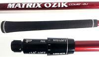Taylor Made Matrix Ozik X Stiff Driver Shaft fit M1,M2,M3,M4,M5,M6,R15,R1Code6.1
