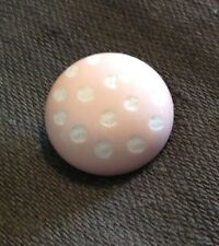 "BUTTONS ETC #P24807-36 PINK LADYBUG ROUND--SHANK--7/8""-- 11 PIECES"