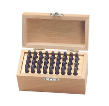 36 PC.NUMBER AND LETTER STAMP PUNCH SET 5/32