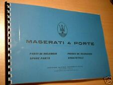 Parts Manual Maserati QP I am 107 catalogo parti di ricambio parti di ricambio