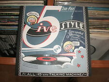 5ive Style – Waiting On The Eclipse ' 7'' MINT  SUB POP