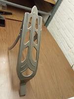 Columbia carrier rack for ELGIN WESTFIELD cruiser bike in bare metal fit Schwinn