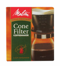 Melitta  Pour-Over Coffee Brewer  6 cups Black