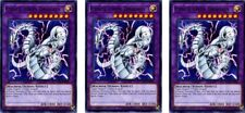 3 x Cyber Twin Dragon  LED3-EN018 Common  1st Ed  YUGIOH Cards