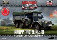 KRUPP PROTZE KFZ 81 ARTILLERY TRACTOR (WEHRMACHT MKGS)#61 1/72 FIRST TO FIGHT