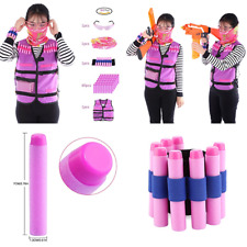 Tactical Vest Kit Peleustech Girls For Nerf Guns N Strike Elite Series W 60 Refi