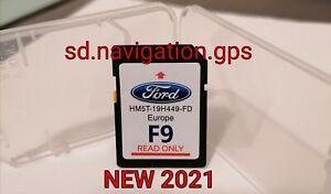 SD MAPPE FORD SYNC2 MAPPA F9 2020 2021 ULTIMA VERSIONE USCITA DICEMBRE 2020 NEW