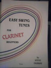 Easy swing tunes for clarinet beginners by Steve FAIRWAY