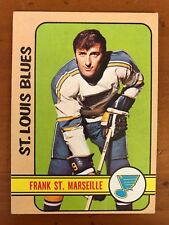 1972/73 Topps Hockey Card #71 Frank St Marseille St Louis Blues EX