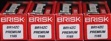 4X Brisk BR14ZC Spark Plug BMW K1100LT K1100SE 1100 K1100RS Suzuki VL800 VZ800