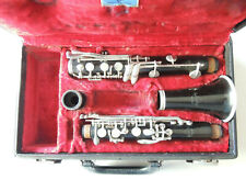 Vintage Normandy Full Plateau Clarinet Ser. 33152 For Parts or Restore