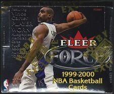 1999-00 Fleer Force Basketball Hobby Box ~ Factory Sealed 24 Packs 5 Cards/Pack