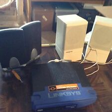 Router, computer speakers, miscellaneous chargers etc.