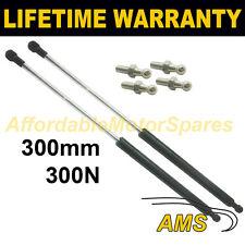 2X Muelles de gas puntales Universal Kit de coche o de conversión 350 mm 35 cm 300N & 4 Pines
